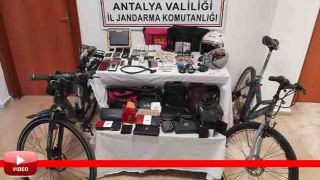 Antalya'da Suç Makinesi 170 Kameranın İzlenmesi Sonucunda Yakalandı