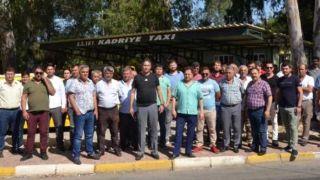 Antalya Serik'te Taksiciler Kontak Kapattı, Turistler Şaşırdı