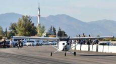 Antalya'da Kepez'in Drag Pistine Uçaklı Test