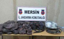 Antalya Yolunda Kablo Hırsızları Jandarmaya Takıldı!