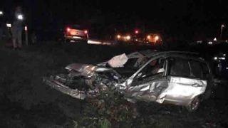 Antalya'da Feci Kaza, Takla Atan Otomobilin Motoru Fırladı: 1 Ölü, 2 Yaralı