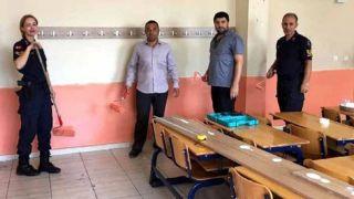 Antalya'da Askerler ve Öğretmenler Okulu Boyadı