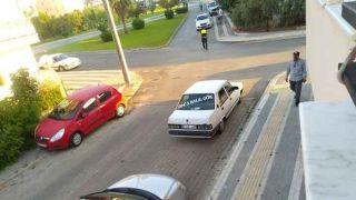 Antalya'da Bir Sürücü Drift Atarken Hayatının Şokunu Yaşadı, Polisi Görünce Aracı Bırakıp Kaçtı