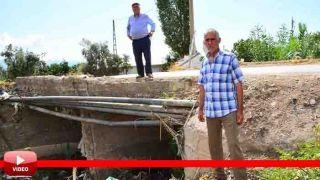 Kumluca'da Vatandaşın 40 Yıllık Köprü Problemi Çözüm Bekliyor