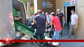 Antalya'da Plaja İnen Asansörde Kimliği Belirsiz Ceset Bulundu